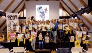 Auch in diesem Jahr haben die Jungen und Mädchen im JULIUS Club wieder fleißig gelesen und sich an dem bunten Rahmenprogramm beteiligt. Foto: K. Koch