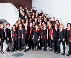 Der Choir under Fire besteht seit 20 Jahren - und lädt zum Konzert ein. Foto: Agentur